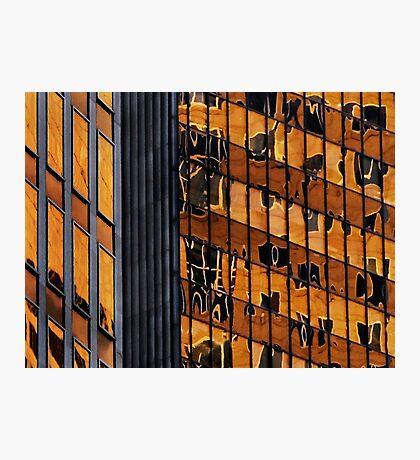 Sydney building reflection 11 Photographic Print