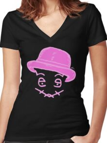 LEXX - Breast Cancer Awareness Women's Fitted V-Neck T-Shirt