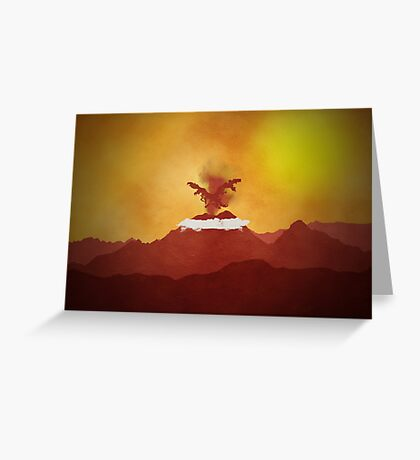 Pokemon - Moltres Rises Greeting Card