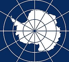 Flag of the Antarctic Treaty  by abbeyz71