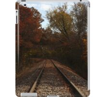 Railroad tracks iPad Case/Skin