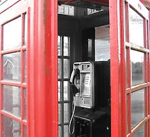 Phone Booth Back In Time by 13Charli13