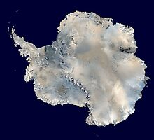 Satellite Image of Antarctica  by abbeyz71