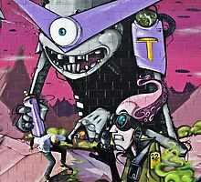 Graffiti Wallride by dangrieb