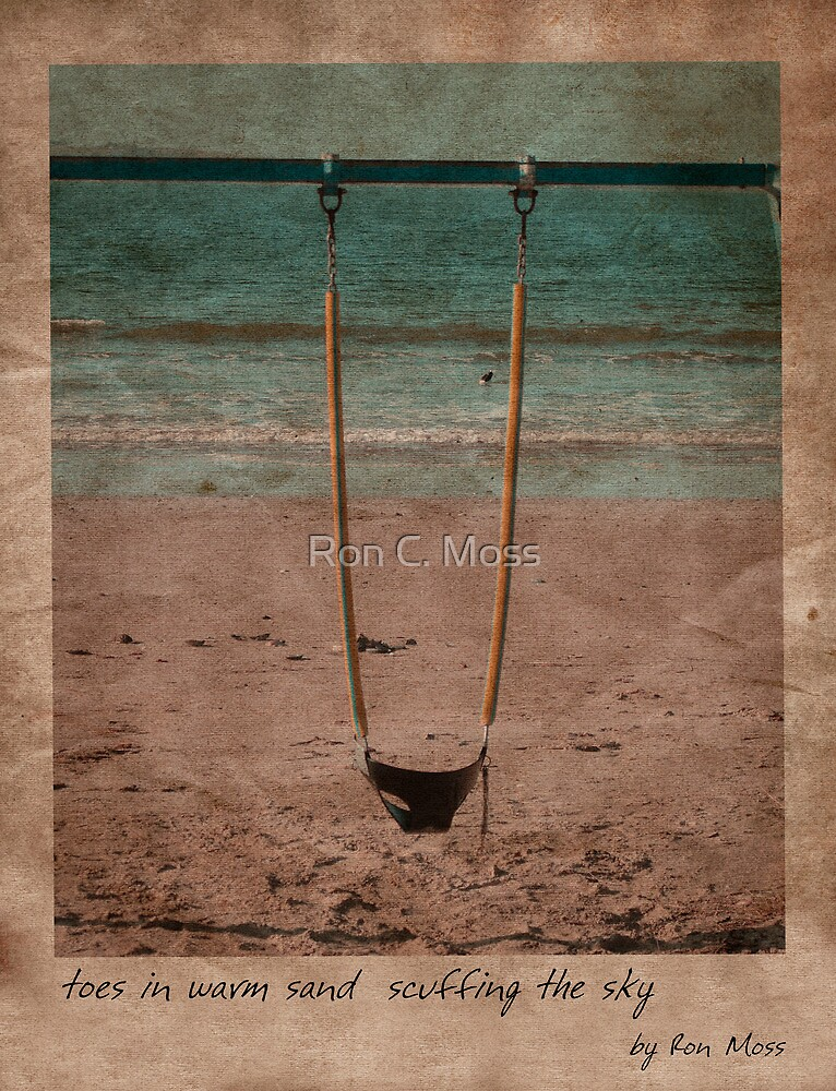 in the sand by Ron C. Moss