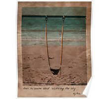 in the sand Poster