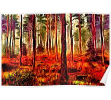 Magic Forest Fine Art Print Poster