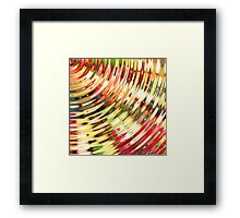 Jelly Waves Framed Print