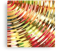 Jelly Waves Canvas Print