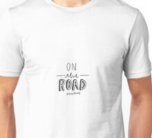 On the Road by Jack Kerouac Unisex T-Shirt