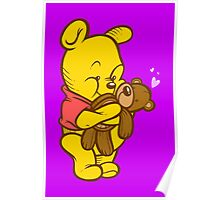 Pooh And Teddy Poster