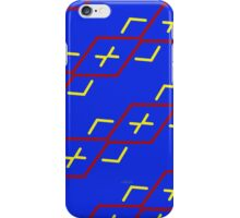 sd Abstract Pattern 110 C primary colors iPhone Case/Skin