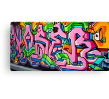 Carlton Graffiti Canvas Print