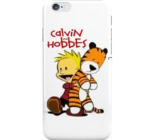 Calvin And doll hobbes iPhone Case/Skin