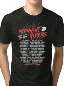 Midnight Riders - No Salvation Tour Tri-blend T-Shirt