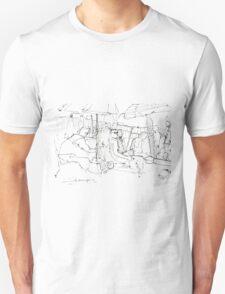 Crowded beach T-Shirt
