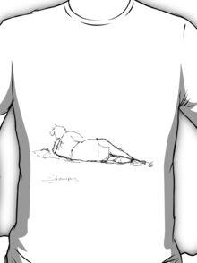 Lazy beach T-Shirt