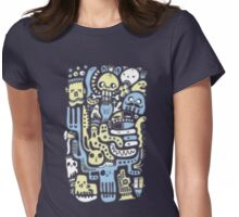 El Día de los Muertos Womens Fitted T-Shirt