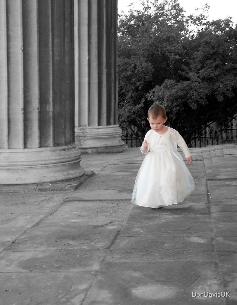 Floating Angel: A Bridesmaid. by DonDavisUK