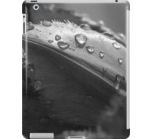Monochrome Tulip iPad Case/Skin