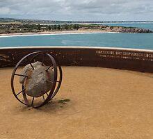 Shipwreck Memorial by Werner Padarin