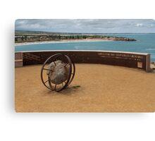 Shipwreck Memorial Canvas Print