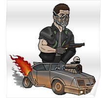 Max Rockatansky - Mad Max: Fury Road (Ed Roth Tribute) Poster