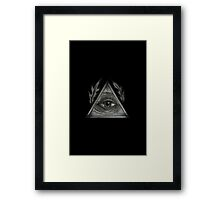 Wild Eyed, Black Framed Print