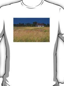 Old Farm House On a Stormy Day T-Shirt