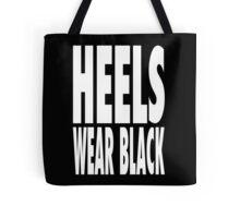 Heels Wear Black Tote Bag