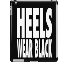 Heels Wear Black iPad Case/Skin