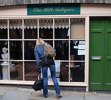 window shopping Elm Hill by stephen denton