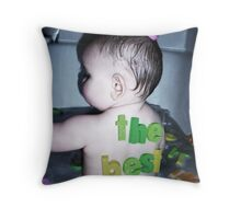 The Best Baby Throw Pillow