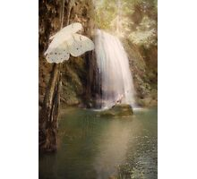 Floating and Flowing Photographic Print