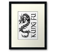 Kung Fu Framed Print