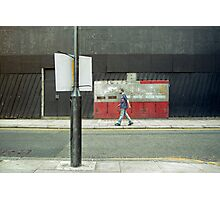 man walking Photographic Print