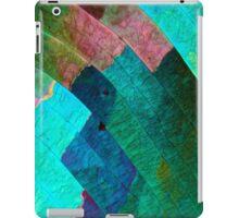 Sulfur crystals under the microscope iPad Case/Skin