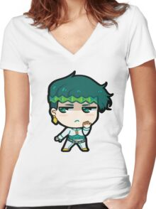Rohan Chibi Women's Fitted V-Neck T-Shirt