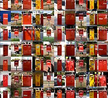 Post Boxes Australia by Bec Lee