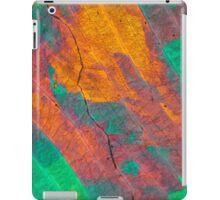 Sulfur crystals under a microscope iPad Case/Skin