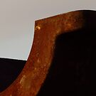 Rust abstract by Elizabeth McPhee