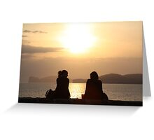 Take all our time... Greeting Card