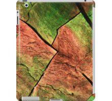 Sulfur under the microscope iPad Case/Skin