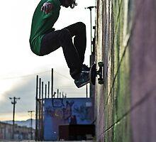 Graffiti Wallride II by dangrieb