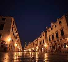 Dubrovnik - Old Town by Andrew Willesee