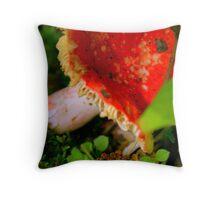 Little Red Wonder Throw Pillow