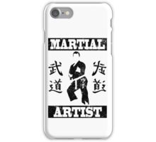 Martial Artist iPhone Case/Skin