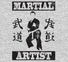 Martial Artist Kids Clothes