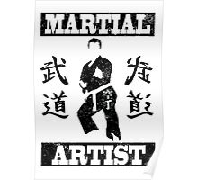 Martial Artist Poster