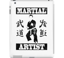 Martial Artist iPad Case/Skin